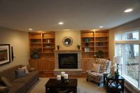brown-hickory-bookcases
